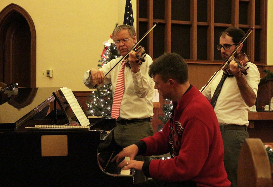 Special Christmas Music from Than, Evan & Dave